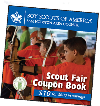 Scout Fair Coupon Book